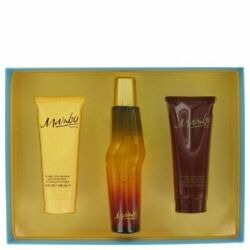 Mambo By Liz Claiborne Gift Set 3.4 Oz Cologne Spray  3.4 Oz Body Wash  3.4 Oz