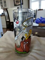 Looney Tunes Sylvester And Tweety And Marc Anthony Glass