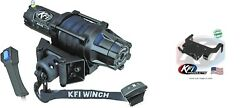 Kfi 5000 Lb Assault Synthetic Cable Winch And Mount Kit Yamaha Grizzly 600 98-01