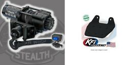 Kfi 2500 Lb Stealth Synthetic Cable Winch And Mount Kit Yamaha Grizzly 660 02-08