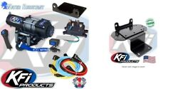 Kfi 3000 Lb Steel Cable Winch And Mount Kit Yamaha Grizzly Rhino 450 660 700