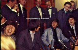 7 Unpublished Colour Slides Of The Beatles July 28th 1964 With Full Copyrights