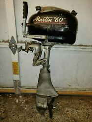 Parting Out ... Martin 60 6hp C48292 Parts Outboard Boat Motor 7.2hp 2 4m