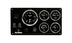 Scania Engine Boat Instrument Panel Pre Wired Usa Made