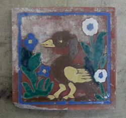 Spanish Pottery And Tile Co. Vintage Duck Tile California