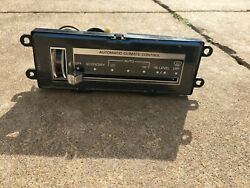 1980 – 1985 Buick Riviera Climate Control Heat & Air AC AC Assembly Controller