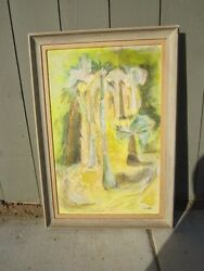 Painting by Dorothy Woodhead Brown Long Time Art Prof  UCLA