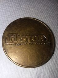 The History Channel Club Iwo Jima Flag Raising Collectors Coin