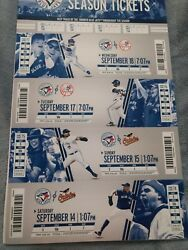 Mariano Rivera Final Save Full Ticket Booklet 9/18/2013 Yankees Last Save 652