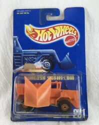 Toy Car 1991 Hot Wheels Snow Plow With Original Package