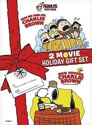 Peanuts 2-movie Holiday Giftset [new Dvd] Gift Set, Slipsleeve Packaging, Wid
