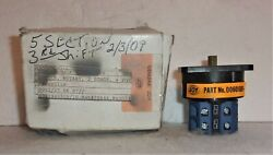 Joy Machinery Company 00601506 2 Stage 4 Position Rotary Switch L48271 001 New
