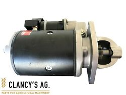 New Ford Tractor Starter Motor - Suit 3000 4000 5000 Tw 10 Series Etc.
