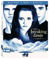 Twilight Breaking Dawn Part 2 [new Blu-ray] With Dvd, Widescreen, 3 Pack, Dig