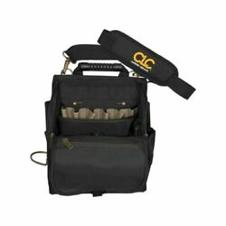 Electrician Tool Pouch 21 Pocket Zippered Professional Bag Padded 10 Tools Fit