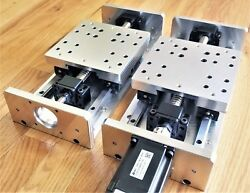 DIY CNC X Y Z Axis Linear Stage Slide Kit 6.5quot; Travel for Mill Router US MADE $350.00