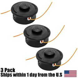 3pk Trimmer Head For Stihl Autocut 25-2 Trimmer Bump Heads String Trimmers