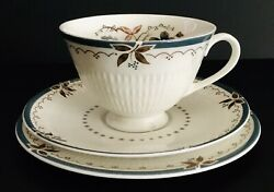 Royal Doulton Old Colony Cup Saucer Dessert Plate Fine English China 1571.