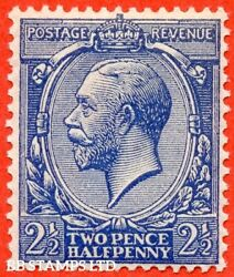 Sg. 372 Variety N21 Unlisted. 2½d Dull Violet Blue. A Super Unmounted B39917