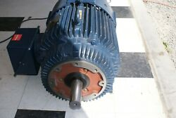 75 hp Blue Max electric motor Model EVB 365THFS8046DT R152 1