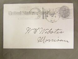 Rare Morrison, Michigan Postmark On The Carlton Implement And Seed Co.
