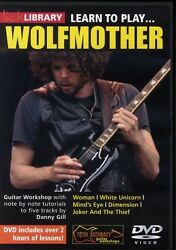 Lick Library Learn To Play Wolfmother Guitar Dvd Brand New Clearance Wolf Mother