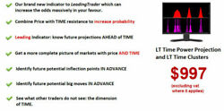 LT Time Projection and LT Time Clusters Forex Indicator mt4 eSignal