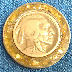 A Vintage Buffalo Nickel Medal By Pewter Rare