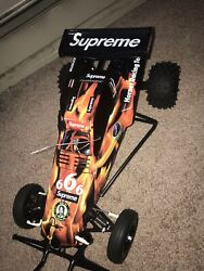 Supreme Tamiya Hornet Rc Car Built With Added Stickers