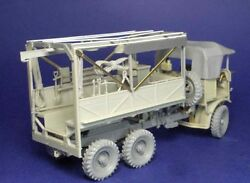 1/35th Resicast Wwii British Leyland Gentry Open Back