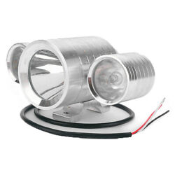 In 3 1 Motorcycle Truck 12v-60v 30w Led Front Spot Driving Colorful Light Lamp