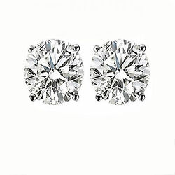 Gift Item! 2CT ROUND DIAMOND STUDS! YELLOW OR WHITE GOLD BEST SELL!