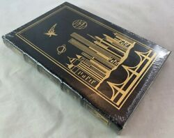 Sealed Easton Press Leather Science Fiction City By Clifford D Simak