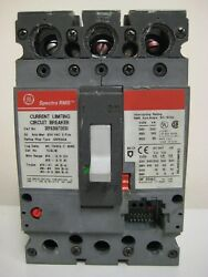 General Electric Sepa36at0030 3 Pole 30 Amp Circuit Breaker - Tested