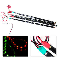 2x Waterproof Red And Green 12v Navigation Light Led Strip Fit For Boat Marine Car