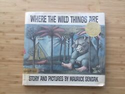 Where The Wild Things Are Maurice Sendak 1st Edition1963 Childrenand039s Book