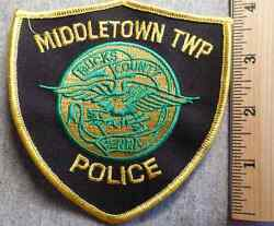 Middletown Township Pennsylvania Police Patch Highway Patrol, Sheriff, Ems
