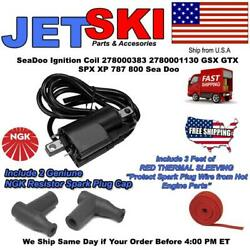 278000383 278001130 Ignition Coil For Seadoo Jet Boat Challenger Gs Gsi Gti Le