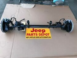 2007 - 2009 JEEP WRANGLER JK FRONT I BEAM 2 WHEEL DRIVE (DIFFERENTIAL) OEM AXLE