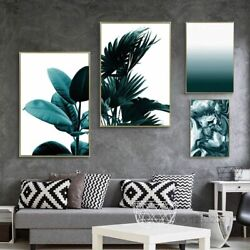 Painting Posters Canvas Prints Modern Wall Art Leaf Nordic Patterned Decorations