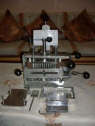 Capsule Making Machine 100 Holes, Size 0 Made In India