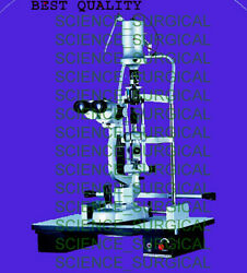 Best Quality Slit Lamp With Motorized Instrument Table1, Low Cost Made In India