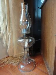 Eapg Oil Lamp W.b.g. Corp Eldorado Late 1800and039s-early 1900and039s Antique Vintage