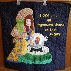 Homemade Wall Hanging Quilt 29quot; X 30quot;