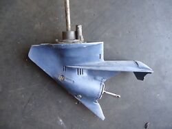 Evinrude Johnson 4hp Light Twin Outboard Complete Lower Unit Gearcase