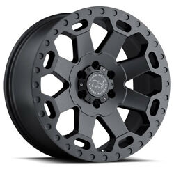 Black Rhino 18 Warlord Wheels And Tyres Ford Ranger L200 Hilux Dmax 4x4