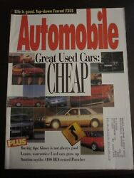 Automobile Magazine September 1995 Great Used Cars Cheap Z3