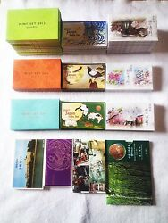 [sale] 39 Of Japanese Coin Sets 2015 2014 2013 Heisei 272625 + Extra