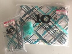 Nip Thirty One 31 Suite Cross N' Fold Purse And Soft Wallet In Sea Plaid