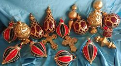 Lot 19 Fine Christmas Tree Victorian Style Christmas Decorations